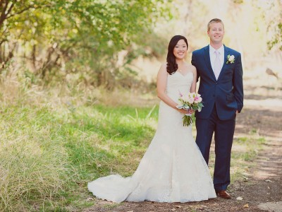 Josh and Tamiko | Barber Park Event Center | Boise Idaho Wedding